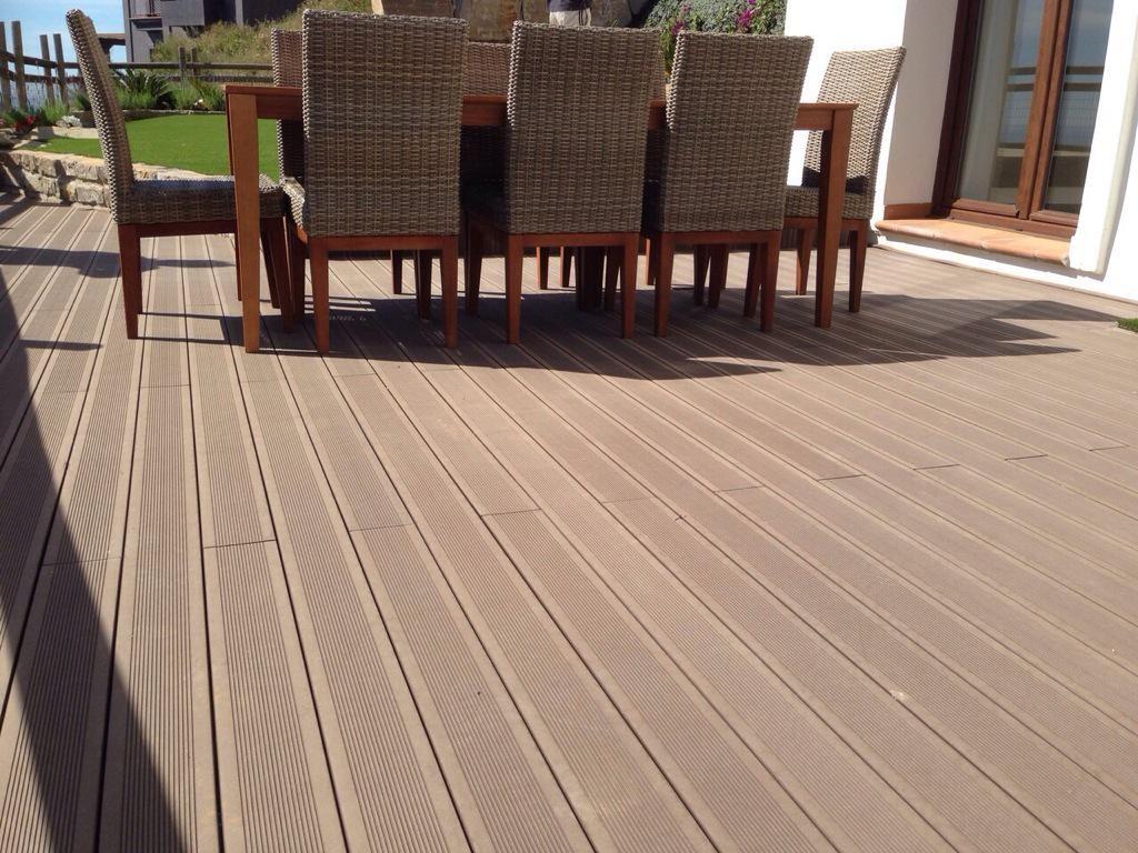 Decksystem tarima tecnol gica suelos composite para for Suelo composite exterior