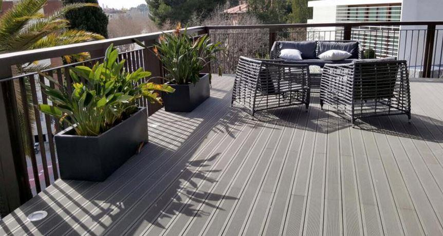 Decksystem tarima tecnol gica suelos composite para - Suelos terrazas exteriores baratos ...