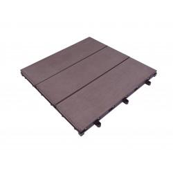 Losetas y baldosas de madera para exterior decksystem - Baldosa madera exterior ...